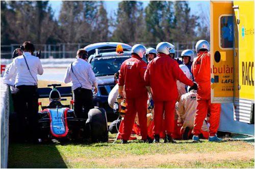 FIA внимательно изучит инцидент с аварией Алонсо на тестах в Барселоне