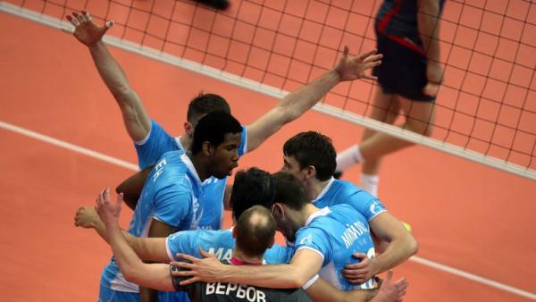 Казанский «Зенит» стал семикратным чемпионом России по волейболу