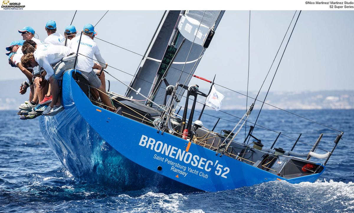 BRONENOSEC 52 пришел к финишу шестым