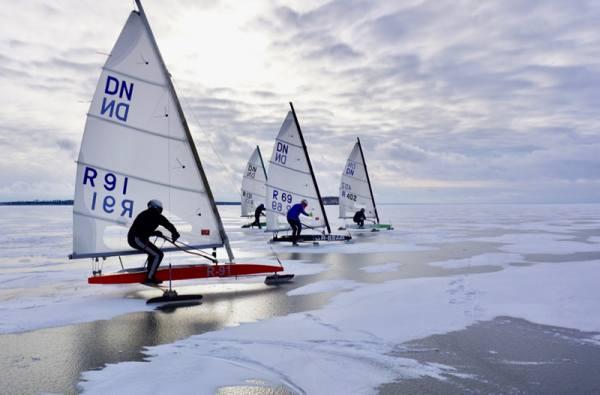 Буерный сезон начался с Большого кубка Сибири