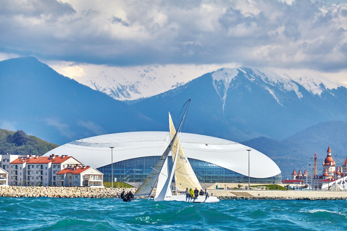 Третий этап регаты Sochi Winter Cup