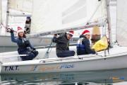 Завершились соревнования в классе SB20 - Christmas Race